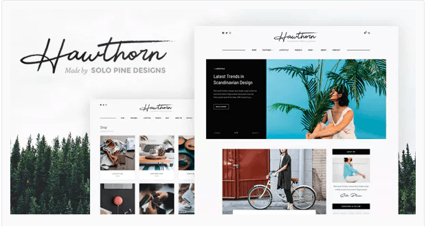 10 Gorgeous Feminine WordPress Themes For Lifestyle Blogs 6