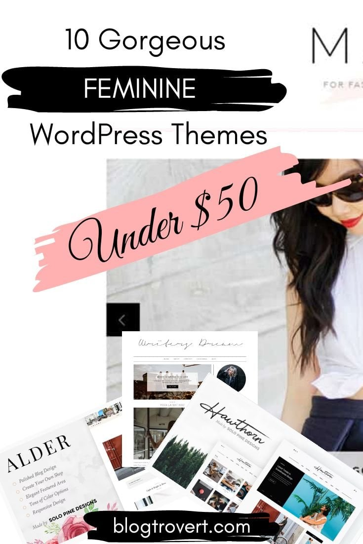 10 Gorgeous Feminine WordPress Themes For Lifestyle Blogs 10
