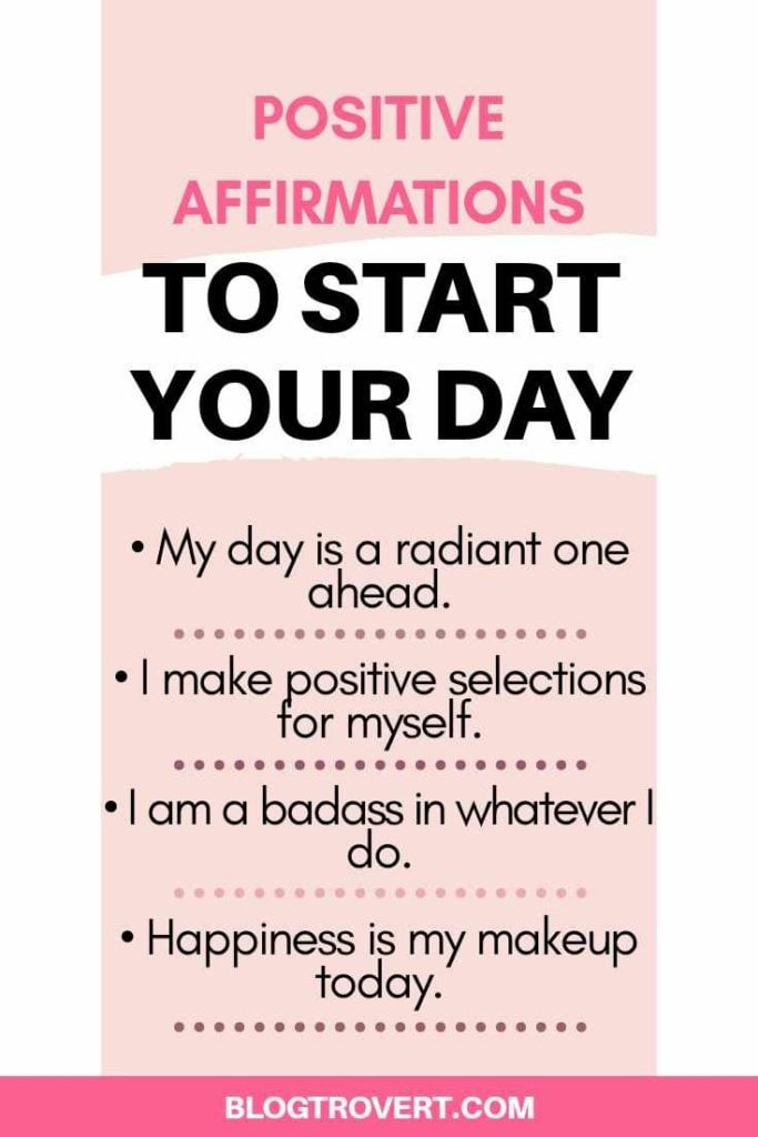 30 Positive Affirmations to Spice up your Day 2